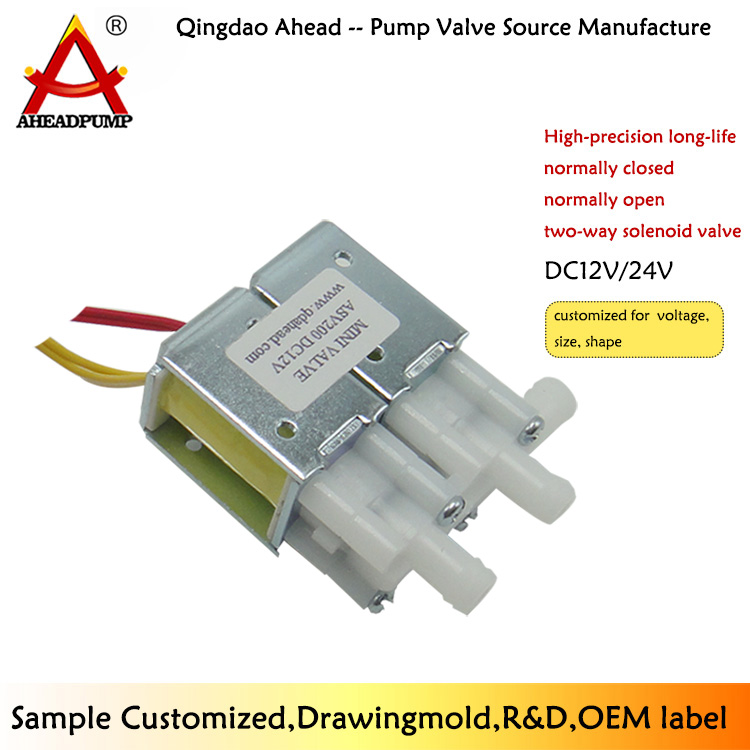 ASV200 new products 12v 24 volt dc 2way battery natural gas solenoid valve