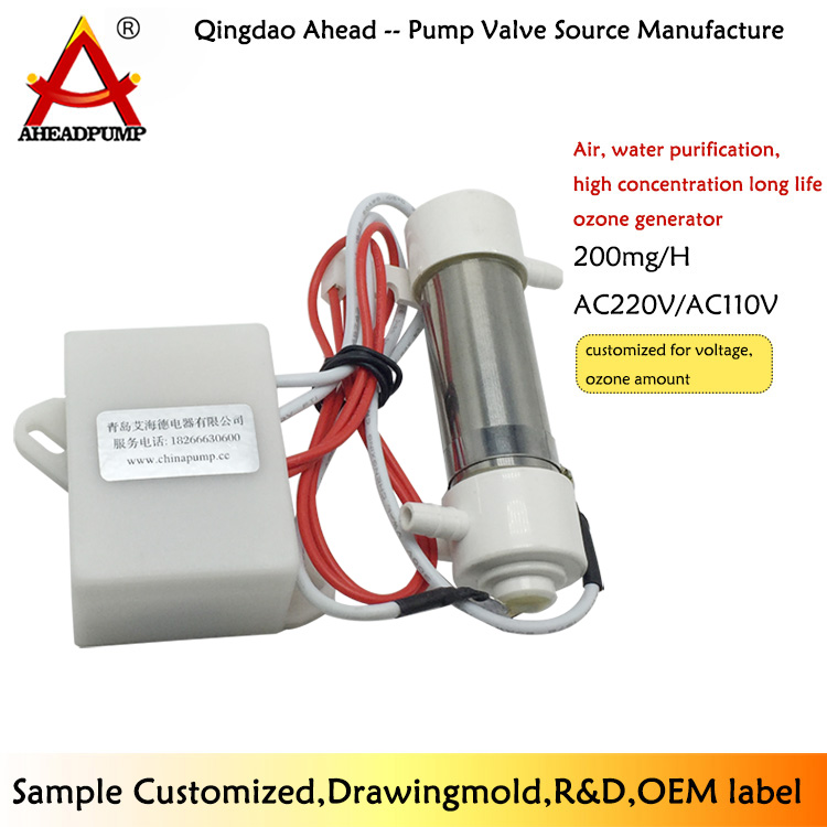 AO200S  110v 200mg ozonizer for water and air vegetables and fruits